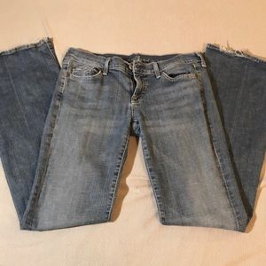 7 for all man kind women's jeans size 30